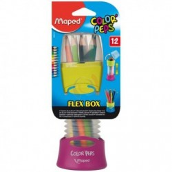 CRAYON COULEUR FLEX BOX MAPED REF 68321207