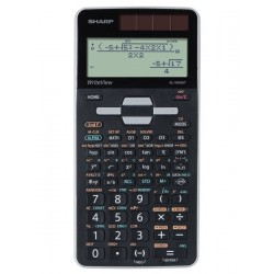 CALCULATRICE SCIENTIFIQUE SHARP EL - W50T 640 FONCTIONS