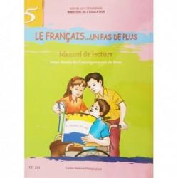 LE FRANCAIS ...UN PAS DE PLUS -MANUELLE DE LECTURE 121511