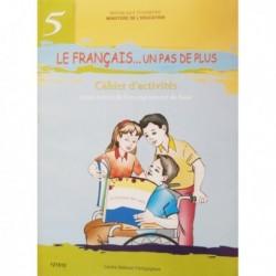 LE FRANCAIS...UN PAS DE PLUS-CAHIER D'ACTIVITEE 121512