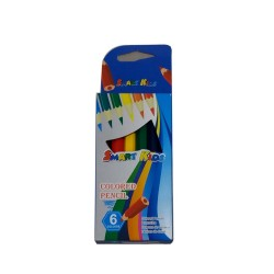CRAYON COULEUR 6/9 SMART KIDS