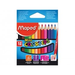 CRAYON COULEUR DE 12/9 MAPED 8325 MIN COLOR'PEPS