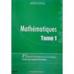 Livre Mathématiques T1 sc exp 222333