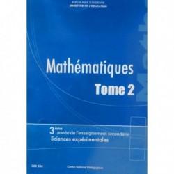Livre Mathématiques T2 SEC SCIENCE EXP 222334