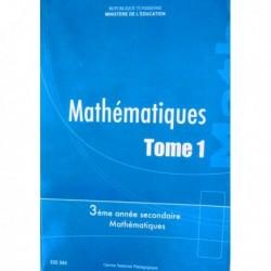 Livre Mathématiques T1 SEC MATH 222343