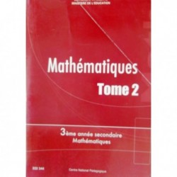 Livre Mathématiques T2 SEC MATH 222344