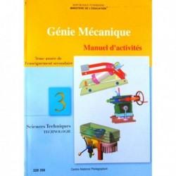 Livre Génie mécanique manuel d'activité(SCIENCE-TECHN) 228358