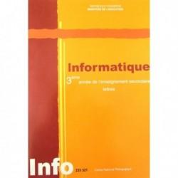 Livre Informatique(lettres) 233321