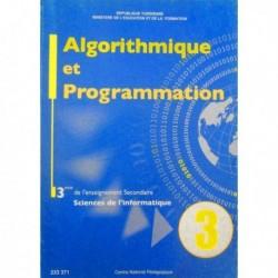Livre Algorithme et programmation (SCIENCE-INFO) 233371