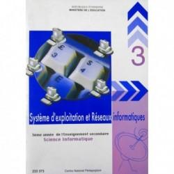 Livre Système d'exploitation et réseaux info(SCIENCE -INFO) 233373