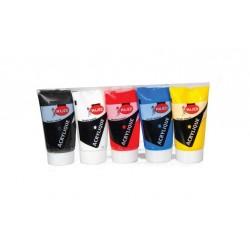 COFFRET DE 5 TUBES ACRYLIQUE REF 3004