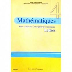 Livre Mathématiques (LETTRE) 222422
