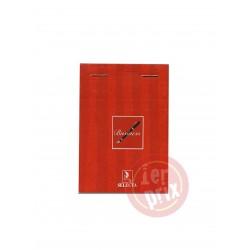 BLOC NOTE BUSINESS A6 140P 5/5 10.5*14.8CM 80G