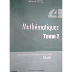Livre Mathématiques T2 (math)222446