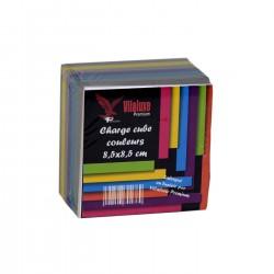 CHARGE CUBE 8.5X8.5 COULEURS VILALUXE / RIBAT