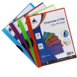 CHEMISE A CLIIP OFFICE PLAST CLIP FOLDER
