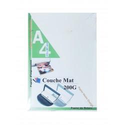 RAME PAGE DE GARDE COUCHE MAT / BRILLANT 200G 100F