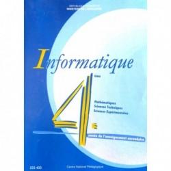 Livre Informatique( SEC SCIENCE-EXP+MATH+TECH) 233433