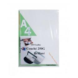 RAME PAGE DE GARDE COUCHE MAT / BRILLANT 250G 100F