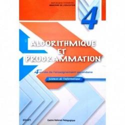 Livre Algorithme et programmation(SCIENCE-INFO) 233471