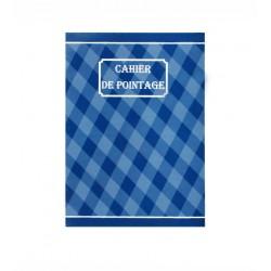 CAHIER DE POINTAGE RIBAT PAPIER