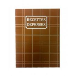 CAHIER RECETTE DEPENSES 50*2